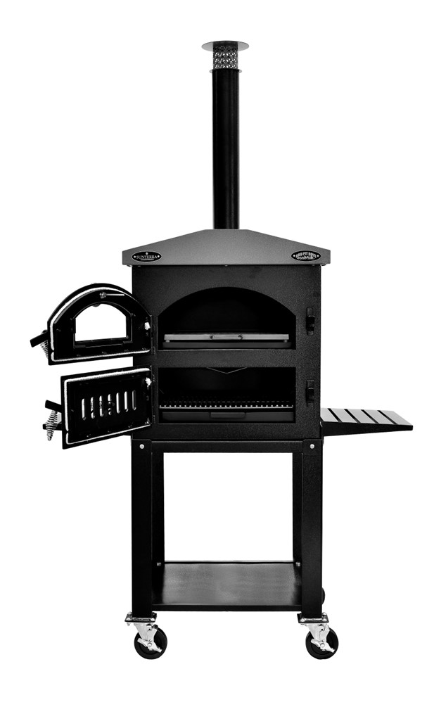 Wood Fired Outdoor Oven with Standard Cart