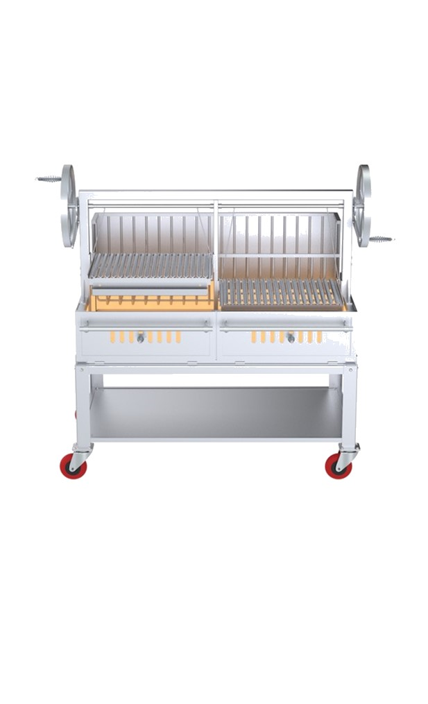 Argentine Stainless Steel Grill 60