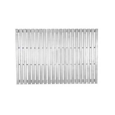 Cooking Grate Aluminum V-Channel - Santa Maria, Argentine, Argentine w/rear Brasero Single Grate 30