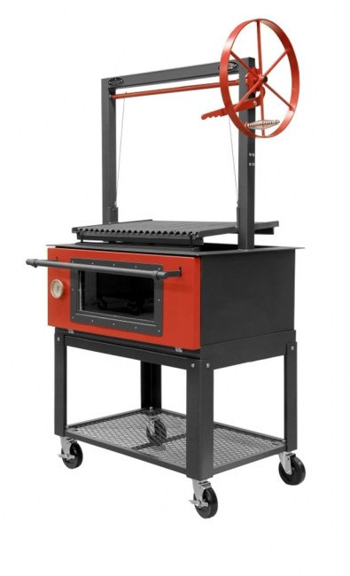 Santa_Maria_Oven_Combo_Steel_Door_Cart4Canvas3